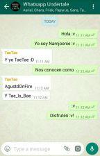 Whatsapp Undertale by KookieAndLevipoio