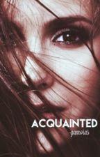 ACQUAINTED † LANCE TUCKER [1] ✔️ by thomashoIIand