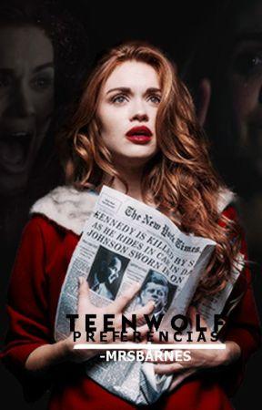 Teen Wolf Preferencias by XxMonserrxtXx