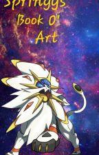 Springy's book o' art by Springycipher