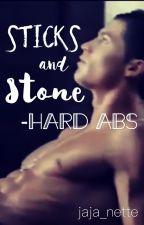Sticks and Stone-Hard Abs by jaja_nette
