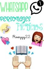 Whatsapp Personajes Ficticios by -sweetsxrrxw