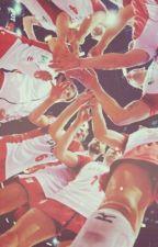 Diamentowe złoto 💎 || volleyball  by Natsuyu_Kamizu