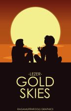 Gold skies by -Lezer-