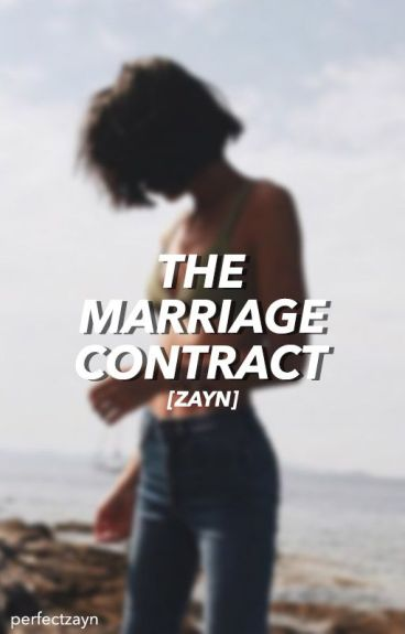 the marriage contract // z.m