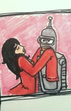Bender X reader (futurama)  by thepunk619