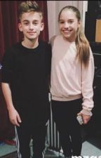 Johnny Orlando and Mackenzie Ziegler  by kenzEfade