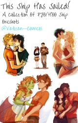 This Ship Has Sailed! - PJO/HoO Ship Oneshots by -vatican-cameos-