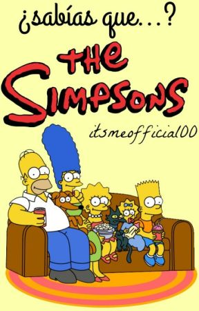 ¿Sabías que...? The Simpsons. by itsmeofficial00