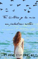 Tu historia y la mía en palabras cortas [Terminada] by KiaraSpinales