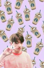 Starbucks . jjk by xdyingflowerx