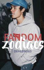 Fandom Zodiacs by brendonpanicss