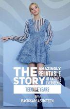 The Amazingly Relatable Story of Katniss Everdeen's Teenage Years by basicsarcasticteen