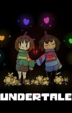 [Undertale]Tú Eres Diferente [Chara×Frisk] (Yuri) by KavvWithLove