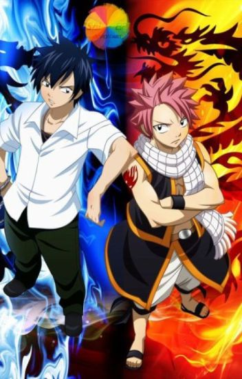 A Fight Between Fire And Ice : A Natsu X Reader X Gray Love Story!