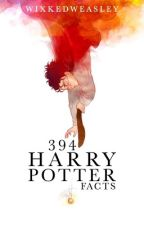 394 Harry Potter Facts by wixkedweasley