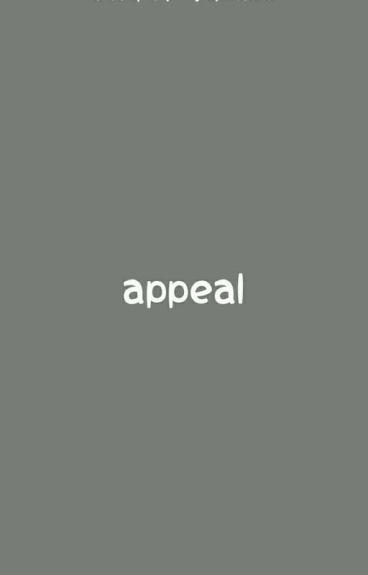 appeal // cheolsoo [on hold]