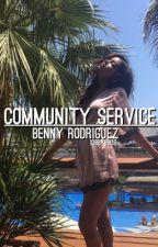 community service / benny rodriguez  by iobey5sos