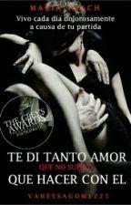 Te Di Tanto Amor, Que No Supiste Que Hacer Con El #TheGrey'sAwardsII  by VanessaGomez25