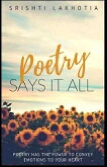 Poetry Says It All #Wattys2017