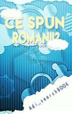 CE SPUN ROMÂNII? by Adi_searchBOOK