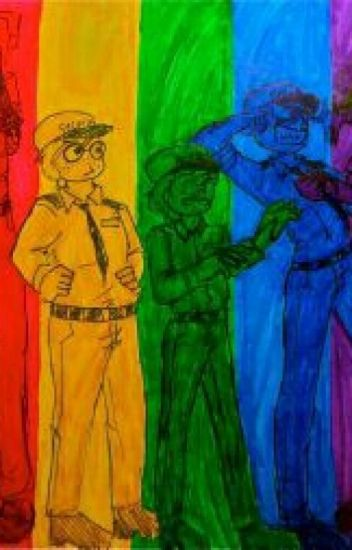 Adopted By the Guards!(Fnaf Fanfic)