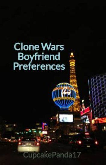 Clone Wars Boyfriend Preferences (On Hold)