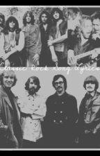 Classic Rock Song Lyrics by aero-impala