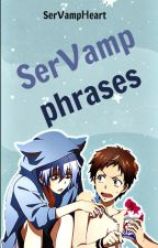 Servamp Phrases. © by ServampHeart