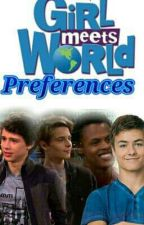GMW Preferences + Imagines [Completed ✔] by pixxiewingz