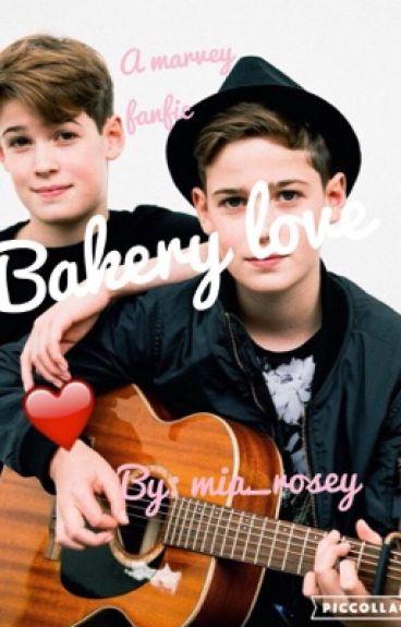 bakery love (a marvey fanfic)