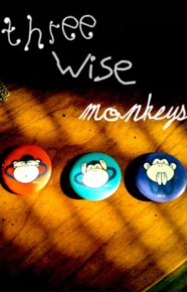 Three Wise Monkeys by AyaChitsure