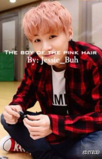 The boy of the pink hair