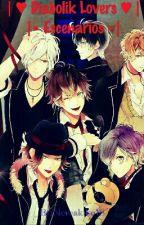 |♥ Diabolik Lovers Escenarios ♥| by Nereakiko18