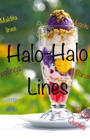 HALO HALO LINES by JECEL__MINTBERRY