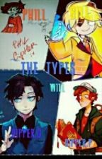 Dipper G/Dipper P/Bill Cipher/Will Cipher/Phill Cipher/-IS TIPE by Dipbill-love-girl