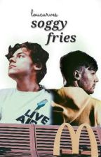 soggy fries 》larry au ✔ by loucurves