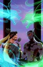 The Phoenix and the Dragon Brothers [Hanzo X Reader X Genji] by Lucip3r