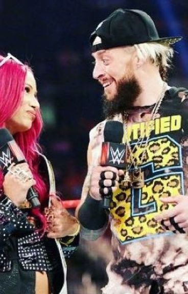 Into you ( Enzo Amore & Sasha banks )