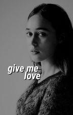 give me love ➳ sabrina carpenter by tarachambIer