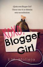 XOXO, Blogger Girl © by EMMolleja