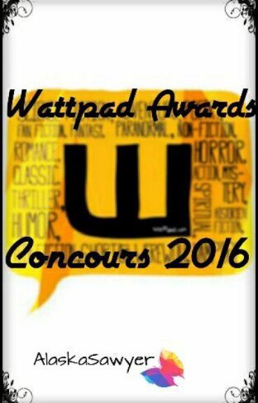 Wattpad Awards concours 2016