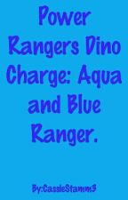 Power Rangers Dino Charge. Aqua and Blue Ranger.  by supernatural_ranger4