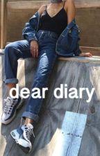 dear diary  by calibraskay