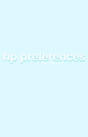 preferences [hp]