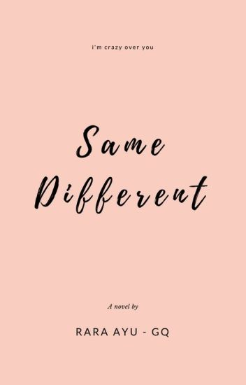 Same Different [OPEN ORDER]