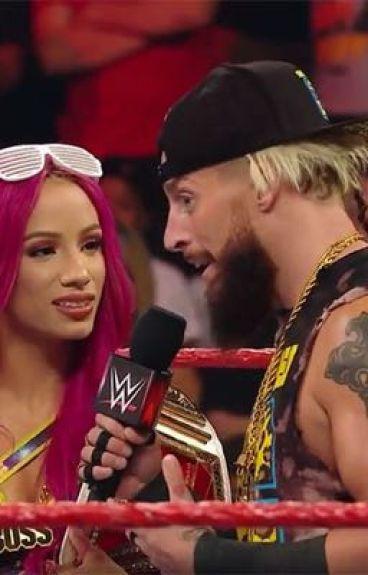 The boss and the bonfide stud (Enzo amore and Sasha banks story)