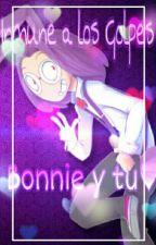 """''Inmune A Los Golpes""""Bonnie Y Tu#Fnafhs by Violet-DashBv"""