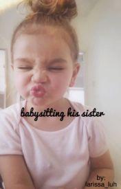 babysitting his sister by larissa_luh