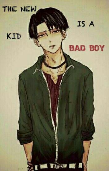 the new kid is a bad boy levi x eren cosplaynfanart